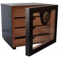 germanus cigar humidor cabinet cube basic ii black germanus