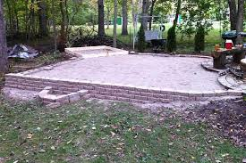 Patio Foundation Diy Brick Pizza Oven Part 1 The Foundation Henning House