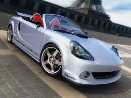convertible toyota view of toyota mr2 spyder convertible photos video features and