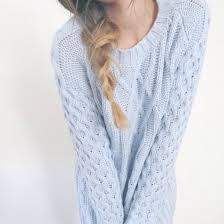 light blue cable knit sweater light blue pastel pastel blue pastel sweater knitted sweater