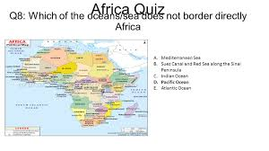 Map Quiz Africa by Q1 Name The Africa U0027s Newest Nation Which Gained Independence On