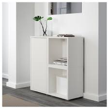Kitchen Cabinets With Feet Eket Cabinet Combination With Feet White 70x25x72 Cm Ikea