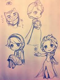 Elsa Sketches Ka Frozen Queenelsa