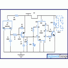 remote control for home appliances circuit diagram