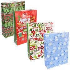 christmas paper bags bulk jumbo christmas gift bags at dollartree