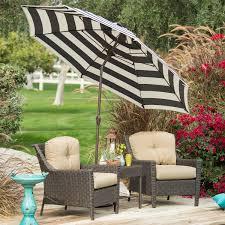 Market Patio Umbrella Stylish 9 Ft Market Patio Umbrella With Crank And Tilt In Navy And
