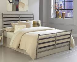 glamorous brushed metal bed frame best 25 steel ideas on pinterest