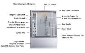 ariel steam shower whirlpool tub 59x32x87 4 da328f3 l