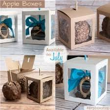 caramel apple boxes wholesale 3573 4 x 4 x 4 5 8 candy apple box brown brown with window