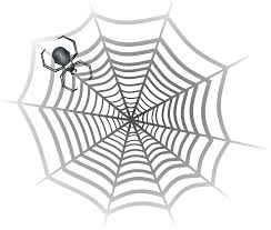 halloween spider clipart black and white spider web web clip art clipart clipartix cliparting com
