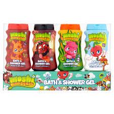 Bath And Shower Gift Sets Moshi Monsters Kids Children Hygine Wash 4 X Bath And Shower Gel