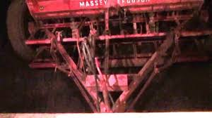 old massey ferguson sunshine 500 combine drill youtube