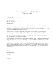 superintendent resume examples awesome collection of format of an application letter for a bunch ideas of format of an application letter for a teaching job with format sample
