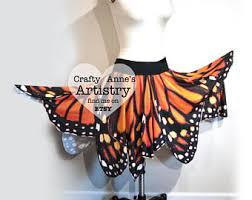 Halloween Costume Fairy Wings Rainbow Monarch Butterfly Skirt Halloween Costume Fairy