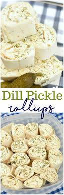 cuisine appetizer dill pickle rollups ahead appertizer dairy on the
