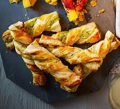 puff pastry canape ideas twisty cheese straws recipe food
