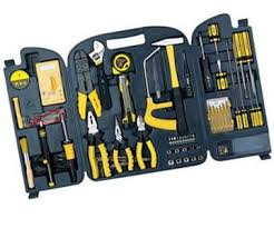 62 in 1 electric tool set practical household combination tool kit