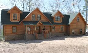 2 Story Log Cabin Floor Plans Gambrel Plans Wood House Log Homes Llc 2 Story Log Cabin House Plans