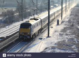 winter snow east coast trains 91 class high speed electric