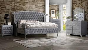 King Platform Bedroom Set by Deanna Grey Velvet King Platform Bedroom Set 20510ke Savvy