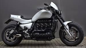 details zum custom bike triumph rocket iii des händlers triumph