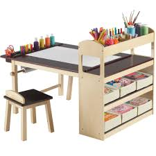 Kids Activity Table With Storage In Kids Desks
