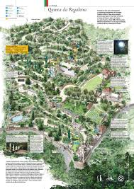 Map Of Portugal And Spain Map Of Quinta Da Regaleira Sintra Portugal Portugal Pinterest