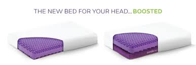 purple pillow the world u0027s first no pressure head bed by tony