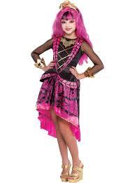 Halloween Costumes Girls Monster Draculaura Costume Supreme Headband