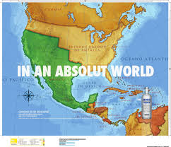 Mexican Map Absolut The Latest Advertising Campaign By Absolut Vodka F U2026 Flickr