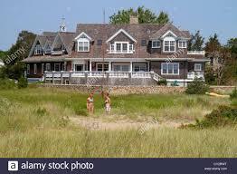 massachusetts cape cod hyannis house home mansion tidal marsh
