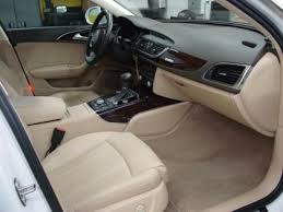 audi a6 beige interior export used 2012 audi a6 3 0t white on beige