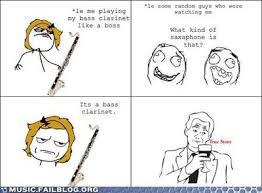 Clarinet Player Meme - bass clarinet internet memes juxtapost