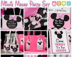 Centerpieces For Minnie Mouse Party by Minnie Mouse Party Etsy