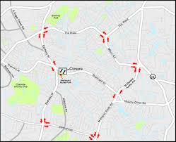 Charlotte Traffic Map Projects U003e Briar Creek Relief Sewer Phase 3
