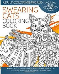 swear word coloring book an coloring book of 40 hilarious