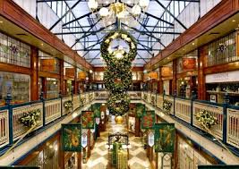 Christmas Decorations For Shopping Centres by Christmas Concept Design Display And Decorations Vm Visual