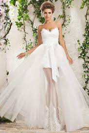 white ivory detachable lace wedding dress custom size4 6 8