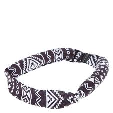 claires headbands aztec print heatless curling headband s us