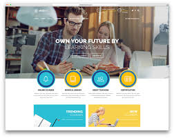 Free Online Home Page Design | 32 awesome responsive wordpress education themes 2016 colorlib