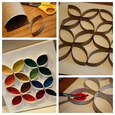 paper towel tube crafts toilet paper roll wall art toilet and