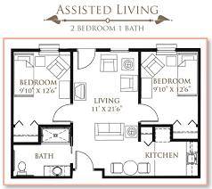 floor plans for assisted living facilities 62 apartments for senior in fort wayne in by park place senior