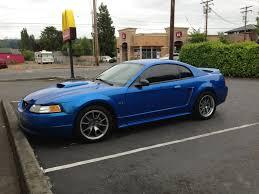 2000 blue mustang built 2000 gt bright atlantic blue wa svtperformance com