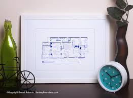 The Brady Bunch House Floor Plan Brady Bunch House Floor Plan Tv Show Floor Plan Blueprint