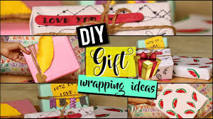 Ideas To Wrap A Gift - diy gift wrapping ideas to wrap a present pretty little makers