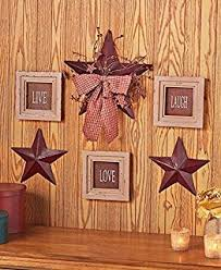 Country Star Home Decor Amazon Com Primitive Battery Operated Lighted Country Star