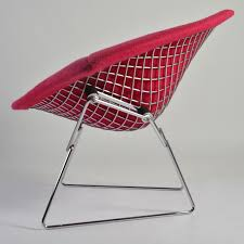 excellent large bertoia diamond chair by knoll furniture