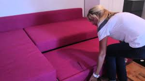 Pink Sofa Bed How To Use The Ikea Friheten Sofa Bed In The Double Owl Room At