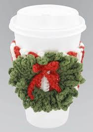 crochet christmas cup cosy cosy tea blog