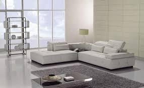 Leather Sofa Loveseat Furniture Appealing Contemporary Sectional Couch 8 Contemporary